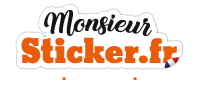 Monsieur-Sticker.fr Logo