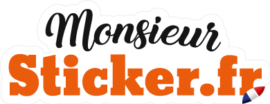 Logo Monsieur Sticker