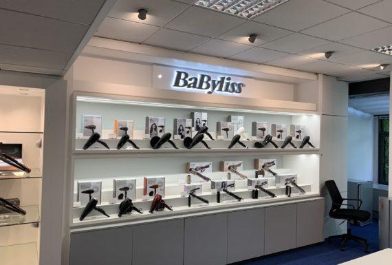enseigne Intérieure BaByliss LED