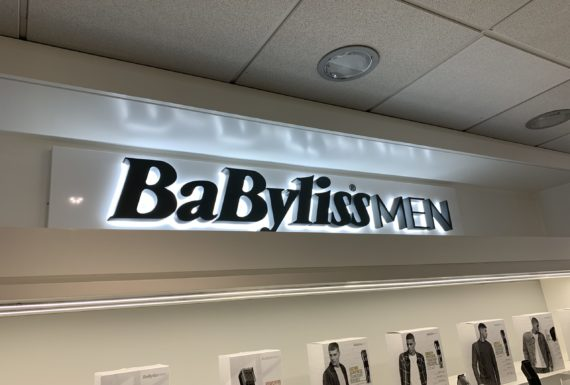 enseigne LED BaByliss men