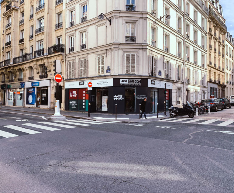 JFG clinic Paris 15 enseigne