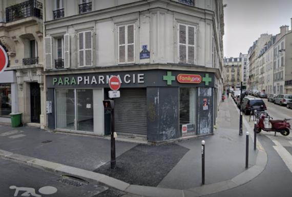 JFG enseigne Paris 15 avant