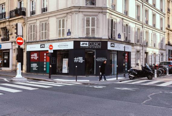 JFC CLINIQUE- enseigne Paris 15 Enseigne